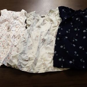 Swoon Worthy BUNDLE of 3 Toddler GAP & ON Dresses